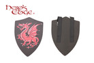 Foam Medieval Crusader Dragon Foam Shield for Cosplay and Larp