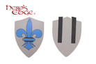 Foam Medieval Royal Crusader Foam Shield for Cosplay and Larp