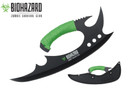 "13"" Zombie BIOHAZARD Throwing Axe Tactical Hunting Hatchet Survival Knife"