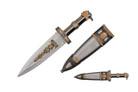 "13"" Bird Head Jeweled Roman Gladiator Dagger"