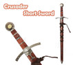 Medieval Knights of Templar Crusader Short Sword