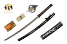 "41"" Kagemusha Hand Forged Damascus Blade Samurai Sword with Musashi Tsuba"