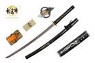 "41"" Kagemusha Hand Forged Damascus Blade Samurai Sword with Musashi Tsuba"