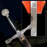 King Arthur's Excalibur Sword with Plaque