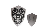 Large Black Zelda Master Foam Shield for Cosplay and Larp
