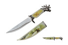 Deer Head Fantasy Dagger With Sheath