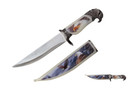 "13"" Eagle Head Fantasy Dagger With Sheath"