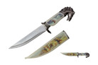 "13"" Horse Head Fantasy Dagger With Sheath"