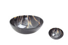 """Medieval 6"""" Cow Horn Round Bowl"""