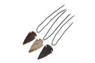 3 Pack Arrowhead Necklace Handmade