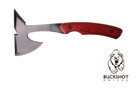 """9"""" Tool Axe with Wood Handle and Sheath"""