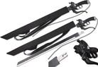 "39"" Fantasy Sword Detachable Metal Blade with Leather Sheath"