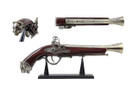 "15.5"" Decoration Antique Gun Model with Display Stand"