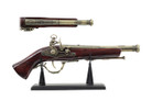 "15"" Decoration Antique Gun Model with Display Stand"