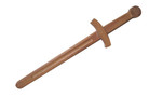 "Wooden Medieval Dagger 17"""