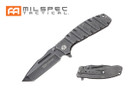 "8"" Assisted Folding Knife Stonewashed Handle & Blade"