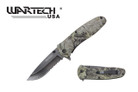 "8"" Overall Assisted Open Knife w/ Real Tree Camo Handle"