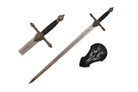 "44"" Medieval Sword w/ Wall Plaque"