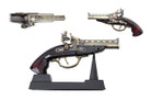 """7"""" Decoration Antique Gun Model w/ Stand"""