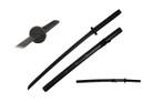 "40"" Honor Black Wooden Samurai Katana Sword w/ Scabbard"