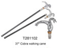 "37"" Cobra Walking Cane"