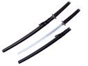 """40"""" Black Katana Samurai Sword w/ Stainless Steel Blade"""