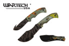 "11"" and 9"" 2 Piece Set Camo Handle and Blade Hunting Knife"