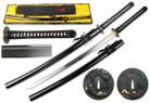 """41 1/2"""" 1095 Hand Forged Samurai Sword Shinogi Zukuri Blade w/ Da Gun Tzu Tsuba"""