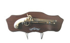 Flintlock Duel Pistol Spanish Cavalier Replica With Plaque