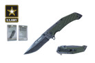 "8.25"" Licensed US Army Folding Knife - NUA12GN"