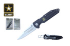 "8.25"" Licensed US Army Folding Knife - NUA10BK"