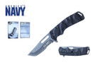 "8.25"" Licensed US Navy Folding Knife - NUN13BK"