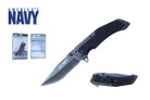 "8.25"" Licensed US Navy Folding Knife - NUN12BK"