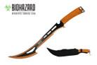"24"" Biohazard 440 Stainless 2 Tone Blade Hunting Machete - K102051GD"