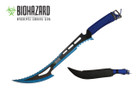 "24"" Biohazard 440 Stainless 2 Tone Blade Hunting Machete - K102051BL"