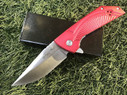 "8.5"" Ball Bearing System Folding Pocket Knife EDC Camping Hunting - Red"