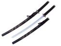 "40"" Black Dragon Katana Samurai Sword w/ Stainless Steel Blade"