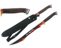 "27"" Twin Tactical Machete w/ Nylon Sheath - T631083BR"