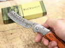 Buckshot Knives Thumb Open Spring Assisted Cleaver Classic Pocket Knife - PBK219DS