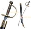 "28"" Caribbean Pirate Cutlass Sword Bow Guard Saber"