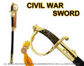CSA Cavalry Saber Civil War Officer Sword