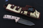 Military Tooth Steel Hunting Survival Tactical Knife Replica