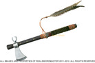 Native Indian Chief Tomahawk Peace Pipe Axe Hatchet