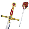 "45"" Masonic Ceremonial Knight Templar Sword Freemasonry"