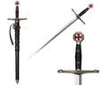 Medieval Kingdom of Heaven Crusader Short Sword of Ibelin