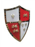 Medieval Crusader Royal Lion Shield