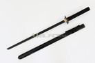 Anodized Shinobi Ninja Sword with Black Blade And Fitting