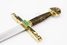 The Charlemagne Long Sword with Plaque