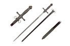 """Knights of St John Masonic Sword Medieval Crusader 34"""""""