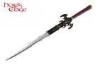 "35"" Foam Fantasy Flamberge Sword Fire Skull"